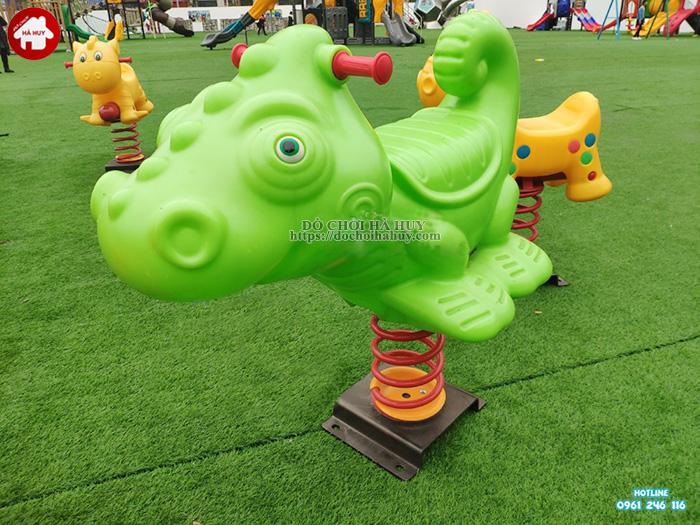 Thú nhún con Cá Sấu dễ thương HB2-020
