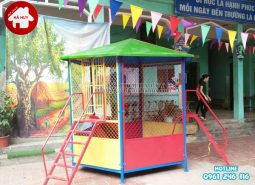 Lắp đặt đồ chơi ngoài trời cho trường mầm non tại Nam Định