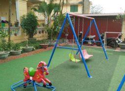 Sản xuất lắp đặt đồ chơi ngoài trời cho trường mầm non tại Thanh Hóa