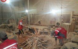 Video giới thiệu xưởng sản xuất nội thất mầm non của Hà Huy