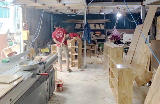 Video giới thiệu sản xuất ghế gỗ mầm non