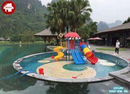 Lắp đặt nhà khối liên hoàn đa năng cho khu resort tại Ninh Bình
