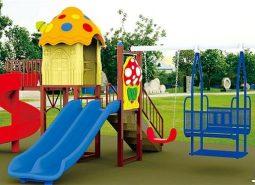Những lưu ý khi lựa chọn thiết bị đồ chơi ngoài trời cho bé