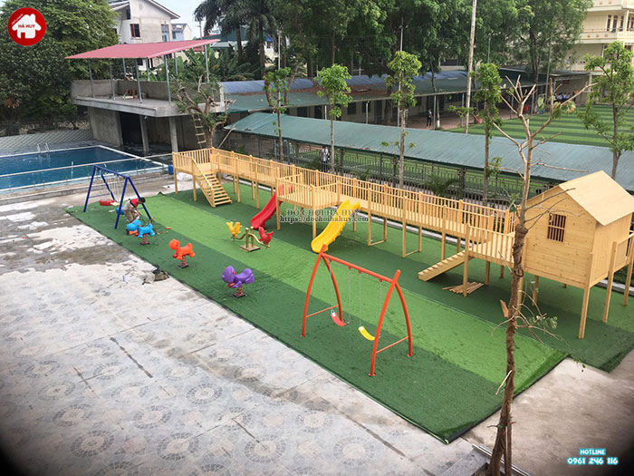 Xích đu ngoài trời giá rẻ cho trẻ ở Hà Nội HB4-048